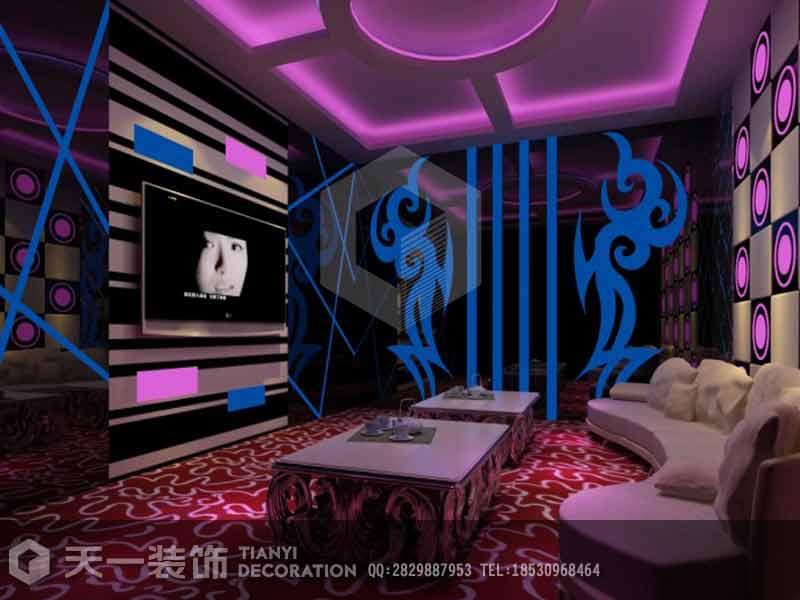 郑州开封高档酒吧ktv装修设计预算多少钱