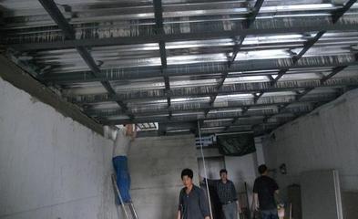 北京彩钢房钢结构安装混凝土阁楼制作