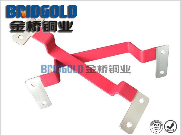 新能源镀锡铜软连接 锂电池成组软连接专用 铜软连接定做高清图片