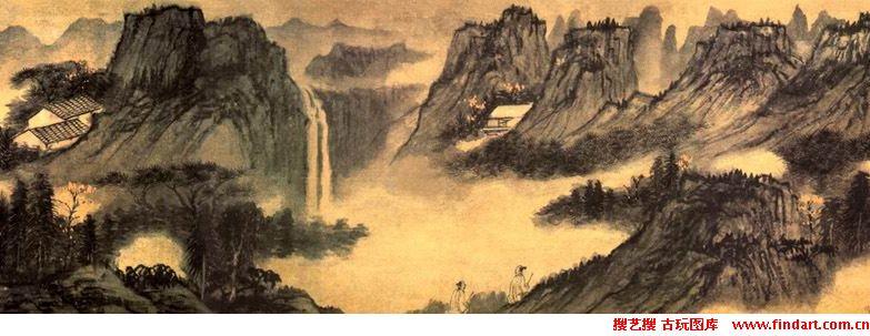 微信古装山水画头像