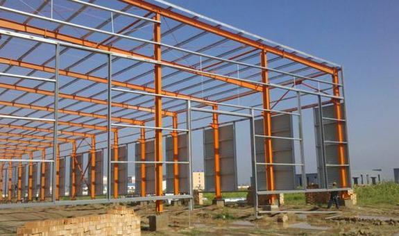 供兰州钢结构车间和甘肃彩钢钢架公司