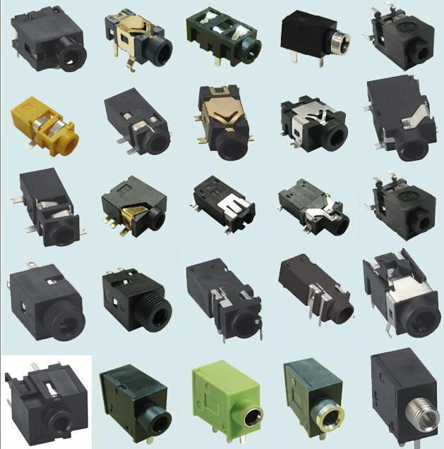 耳机插座电路-耳机插座结构-耳机插座内部电路-耳机插座内部结构-耳机