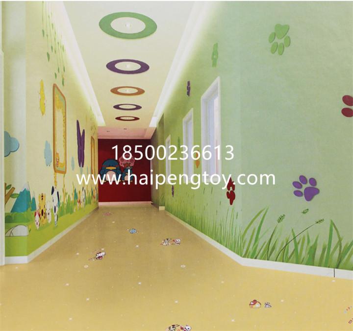幼儿园室内pvc地板塑胶地面运动地板厂家