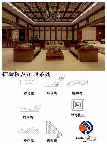 北京供应全屋定制实木多层环保双饰面板及线条