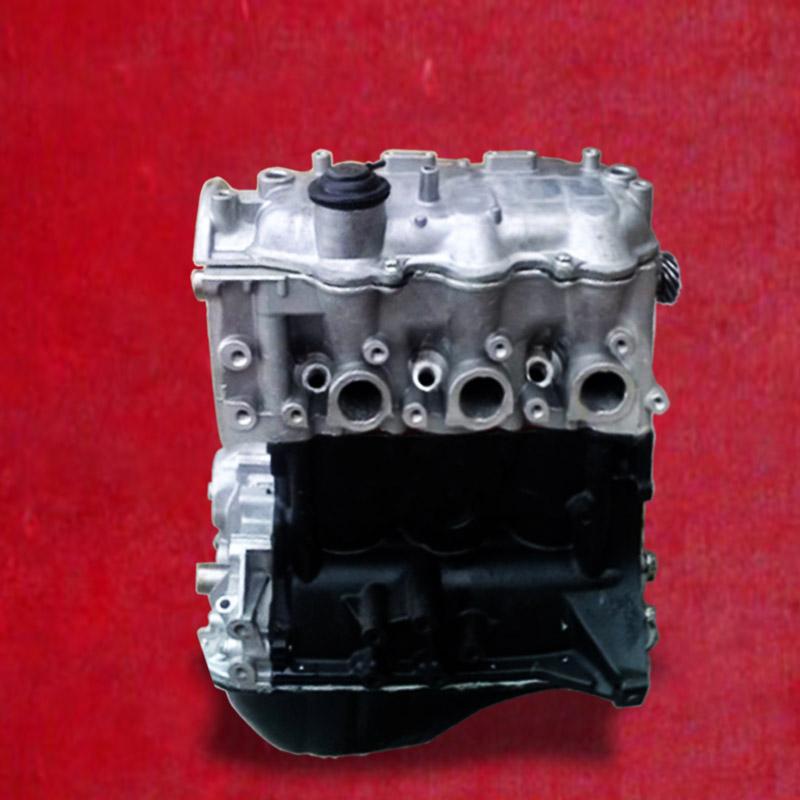 夏利吉利优利欧豪情三缸发动机376qe378发动机凸机总成全新正品