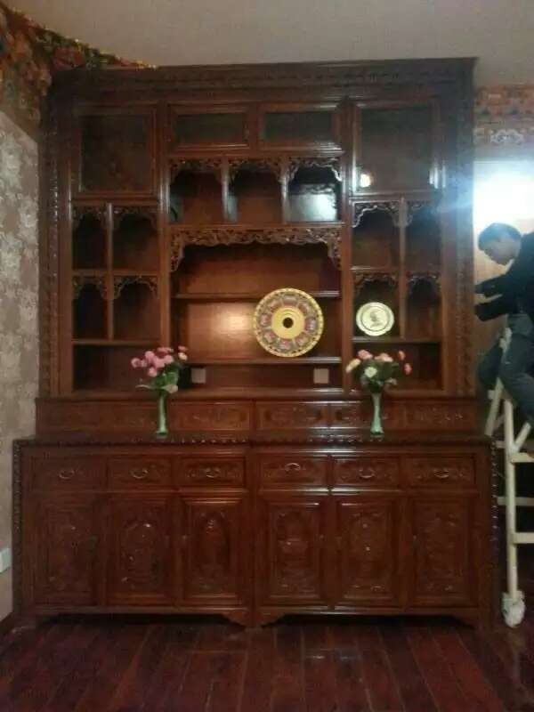 办公桌,中式床