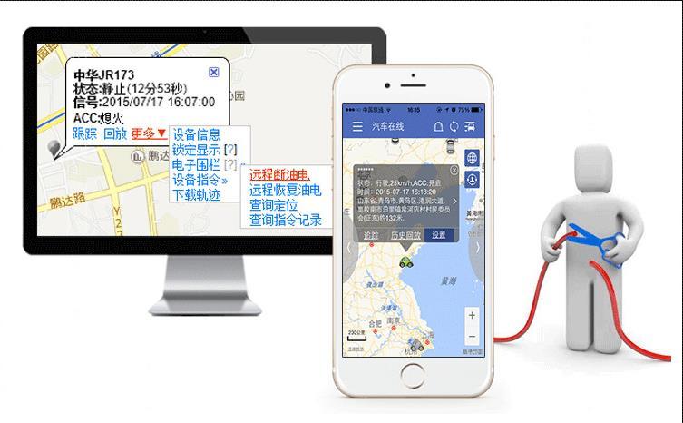 谷米爱车安GT06 GPS定位器
