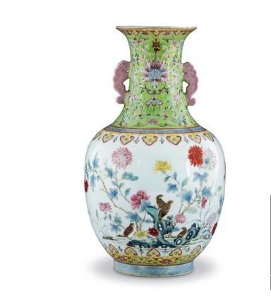乾隆粉彩瓷器的鉴定及市场分析 香港瓷器拍卖征集