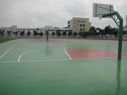 青岛球场地坪,青岛室外球场地坪漆,体育场地坪漆
