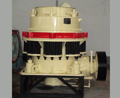 和py系列弹簧圆锥破碎机相比:具有结构可靠,生产效率高,调整方便,使用