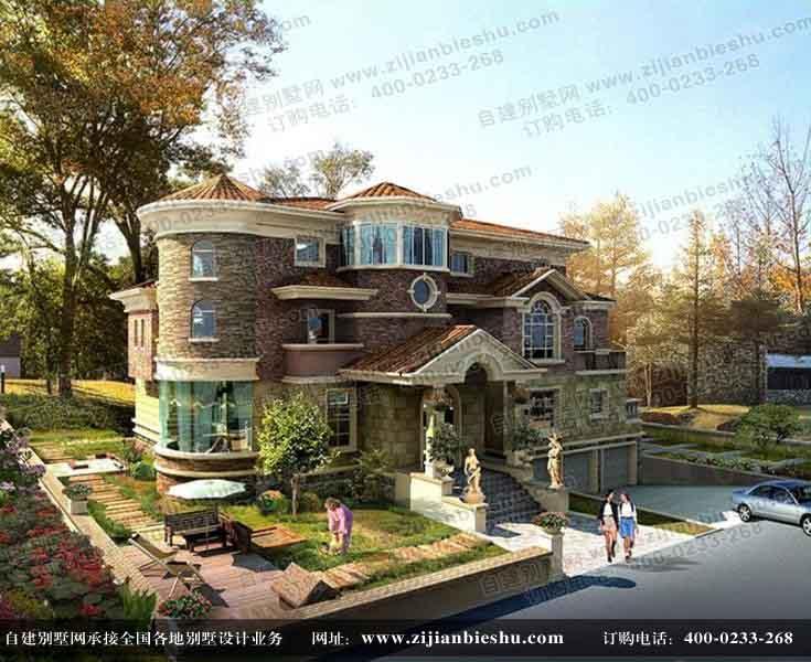 南宁市独栋别墅设计图/建筑设计图纸