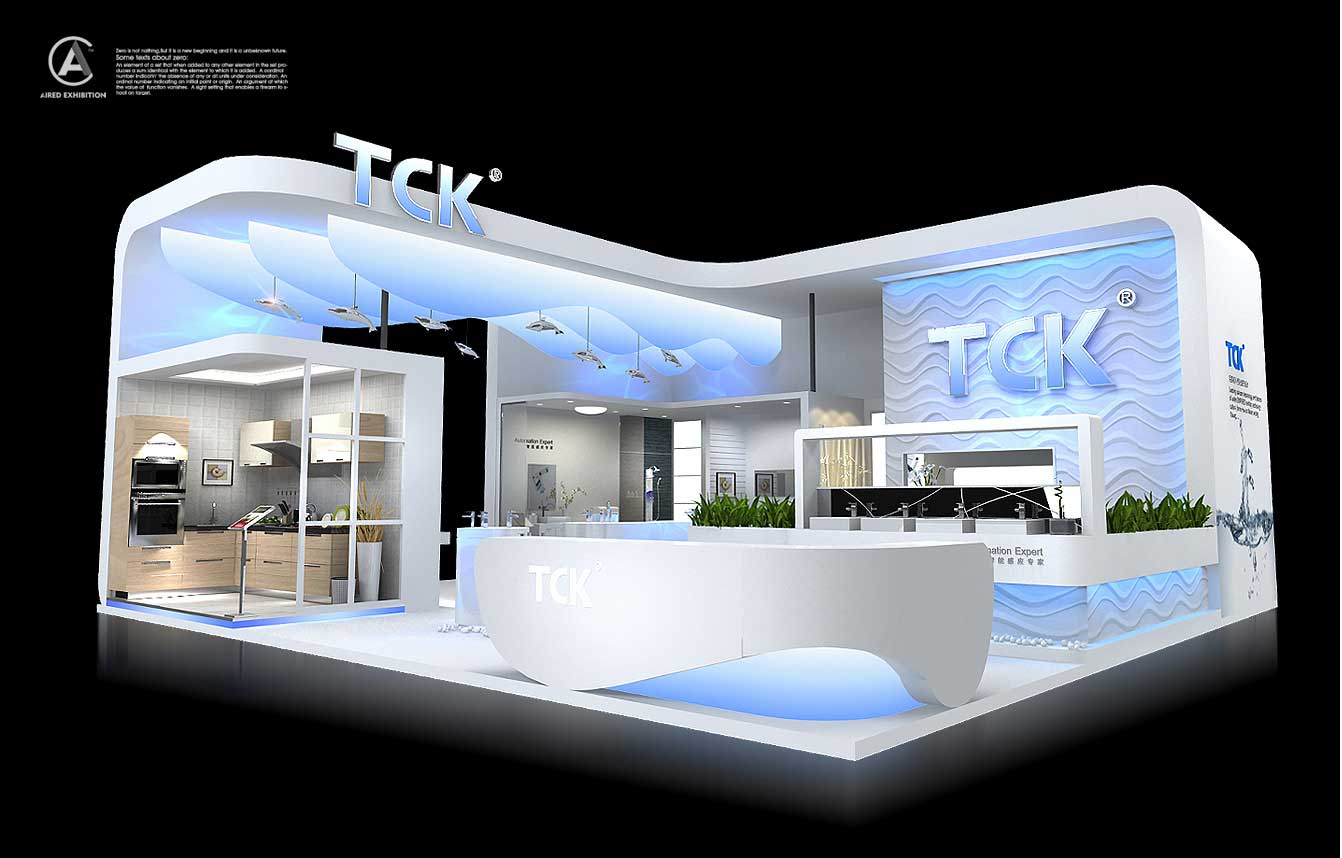 艾锐专业展览展示设计施工/展览展台设计搭建图片