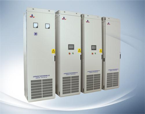 桥式不可控整流器向中间直流环节的滤波电容充电,然后通过pwm控制下的