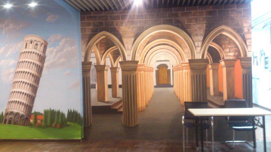 朝阳3d立体画,3d立体彩绘,3d立体壁画,3d立体墙绘