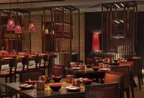 重庆自助火锅餐厅装修设计,主题火锅店装修设计