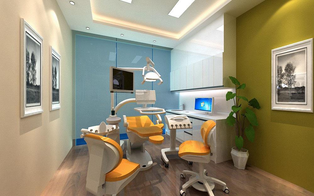 愉快的牙科诊所室内设计诊疗课程舒适地接收治疗,而环境设计病患牙科帮助内燃机图片