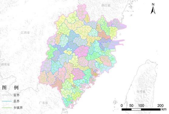 福建省行政区划