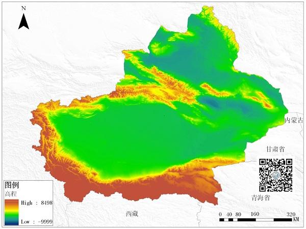 南疆的塔里木盆地面积53万平方公里