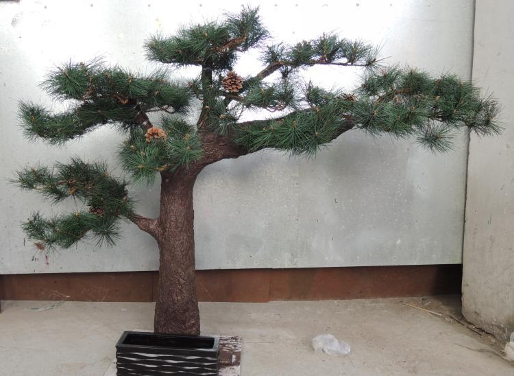 松树叶子手工制作