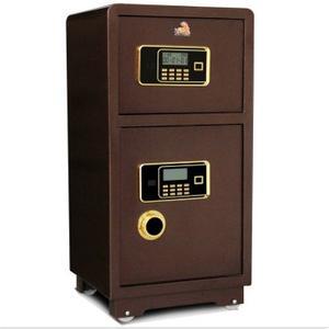 《虎牌》防火防盗保险柜采用单开门结构,装有分体式机械密码锁及