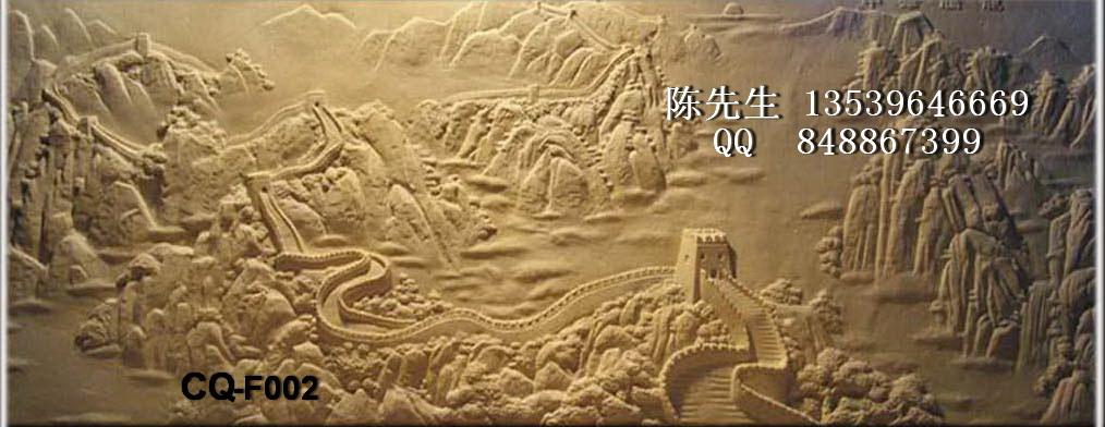 砂岩浮雕长城浮雕砂岩浮雕背景墙欧式浮雕
