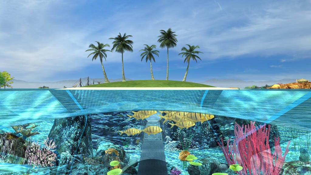 海洋公园,水上乐园,动物园,植物园,自然博物馆,度假村等结合为一个