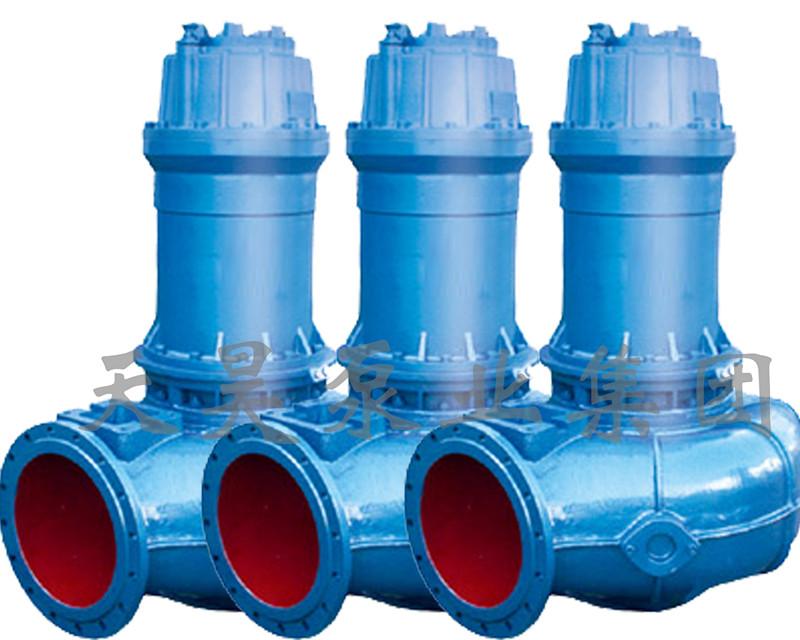 排污泵由于泵和电机同轴,轴短,转动部件重量轻,因此轴承上承受的载荷图片