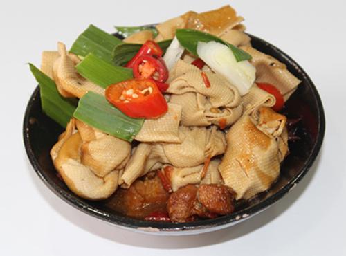 千张结烧肉-皖香客大食堂中式快餐连锁图片