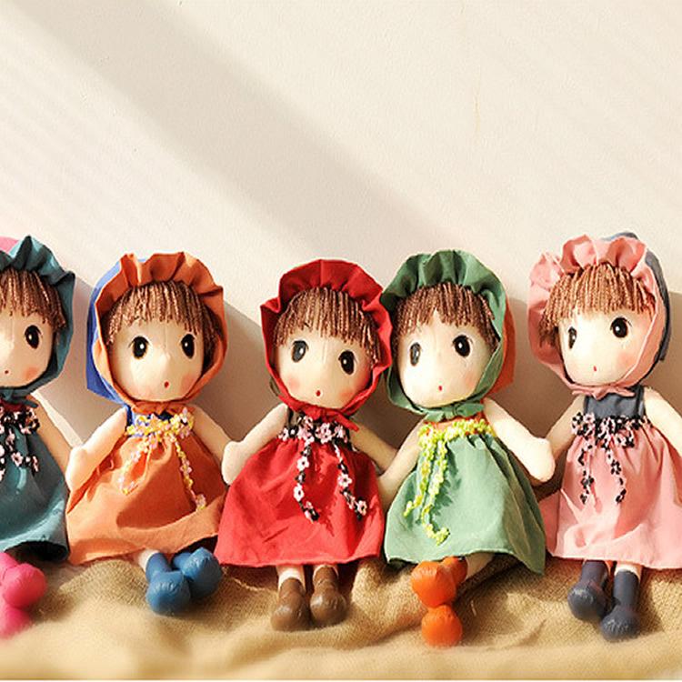 供应童话世界小女孩卡通可爱创意毛绒玩具