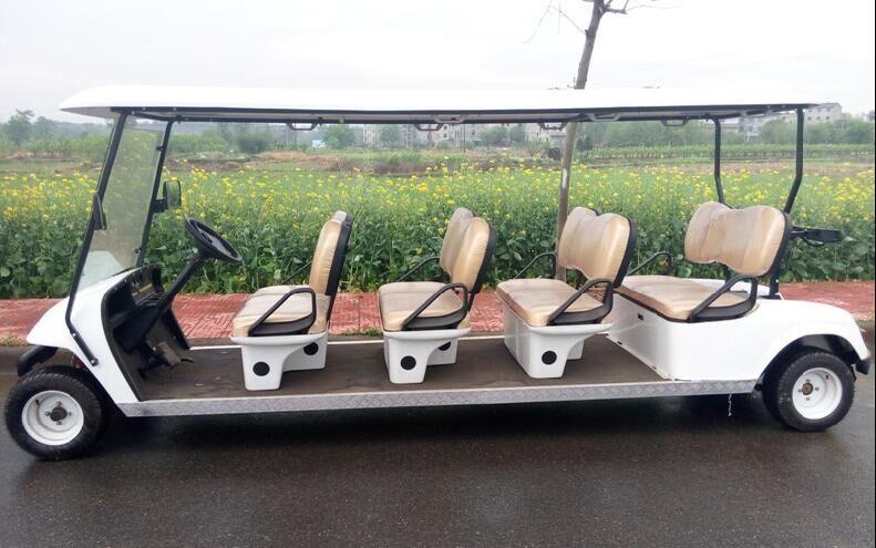 供应观光电动车厂家直销新款8人座ezgo高尔夫球车电动