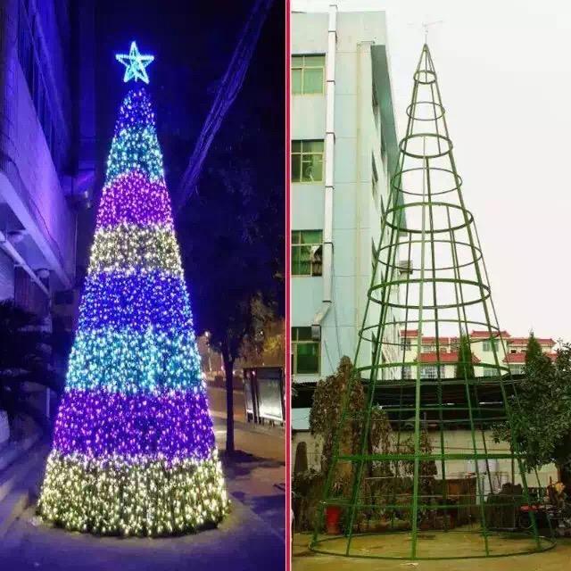供应商场圣诞树厂家圣诞树装饰/圣诞树布景/圣诞树定做/大型户外