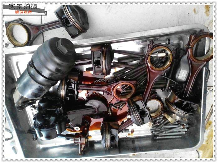 供应奥迪发动机烧机油大修高清图片