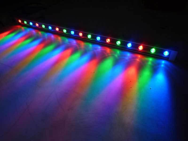 LED洗墙灯 LED线形投光灯 墙体立面灯 RGB洗墙灯