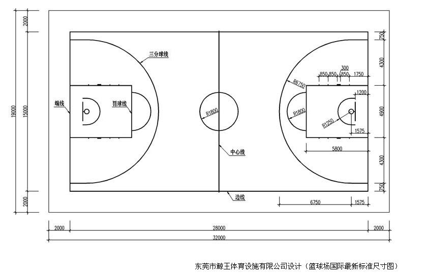 天津篮球场地 排球 羽毛球场地专业标准划线施工