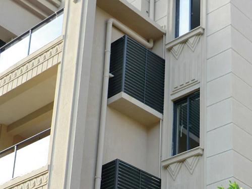 锌钢百叶窗制造多少钱一平米?