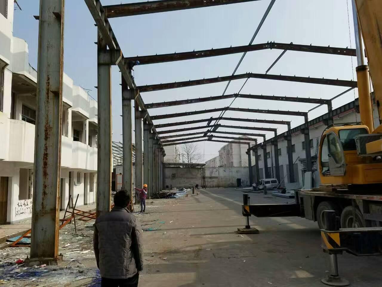 池州二手钢结构厂房厂家,求购旧钢结构厂房