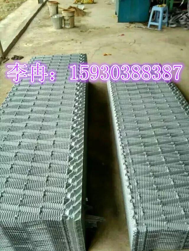 供应空研冷却塔填料 冷却塔填料清洗更换750*2000 950