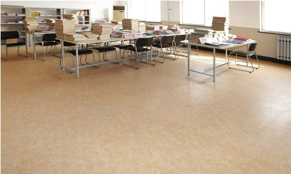 德州养老院pvc塑胶地板,德州养老院地面材料,pvc地胶地胶板厂家销售图片