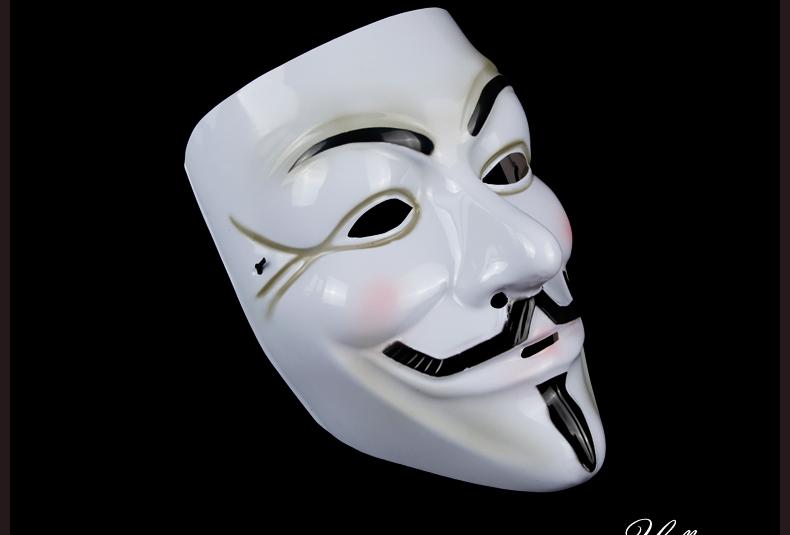 福克斯面具的神秘人物