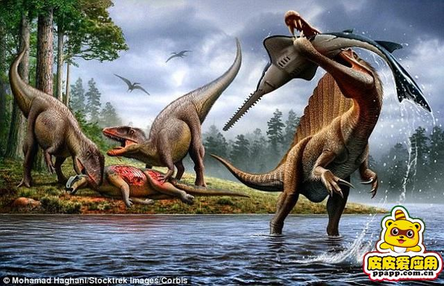 看恐龙,骑恐龙,与恐龙合影,一起回到远古的恐龙时代.