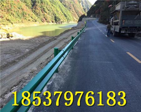 热镀锌喷塑护栏板 高速喷塑护栏 高速公路热镀锌防撞波形护栏