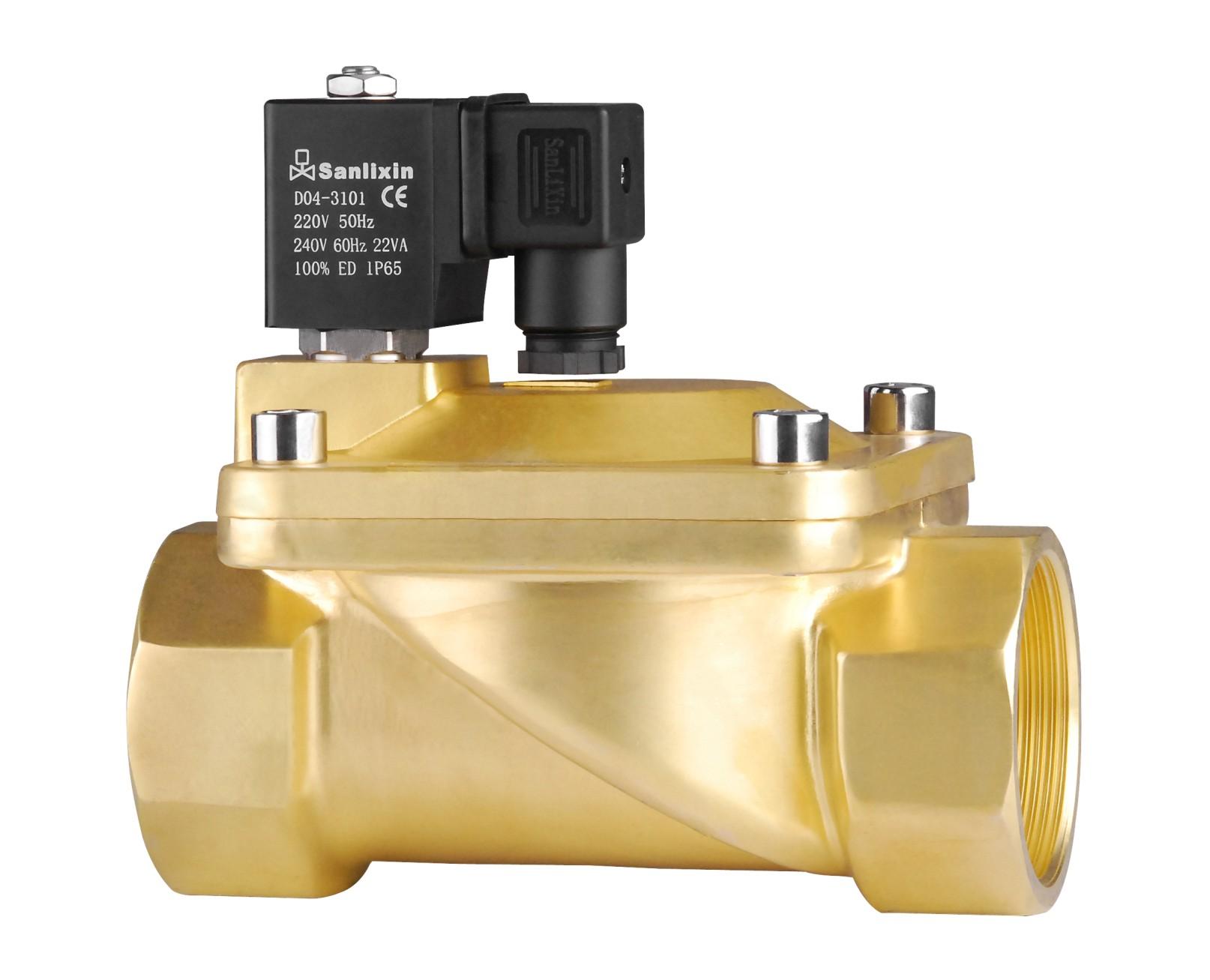 slp-40系列水液气油电磁阀_水处理专用电磁阀_淄博厂家直销图片