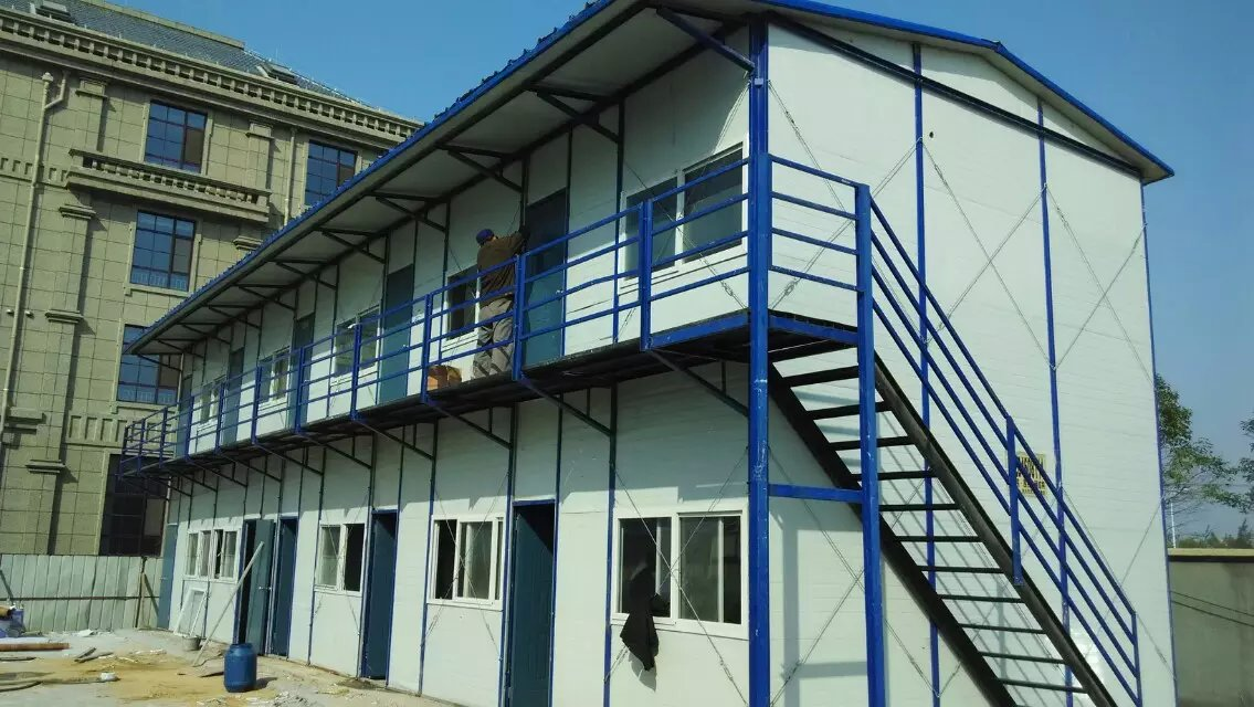 轻钢活动房,钢结构大棚,钢结构框架,岩棉防火活动房的设计与安装 毕节