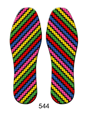 防臭吸汗养生保健十字绣鞋垫