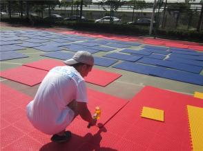 贵州悬浮拼装地板