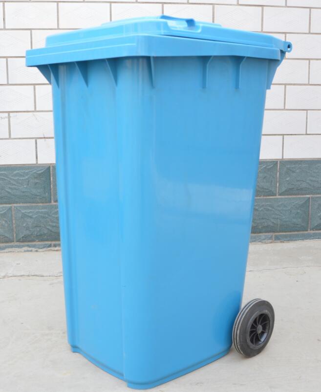 240l/75kg塑料垃圾桶,质量好的塑料垃圾桶,环保方便,保定鼎瑞值得