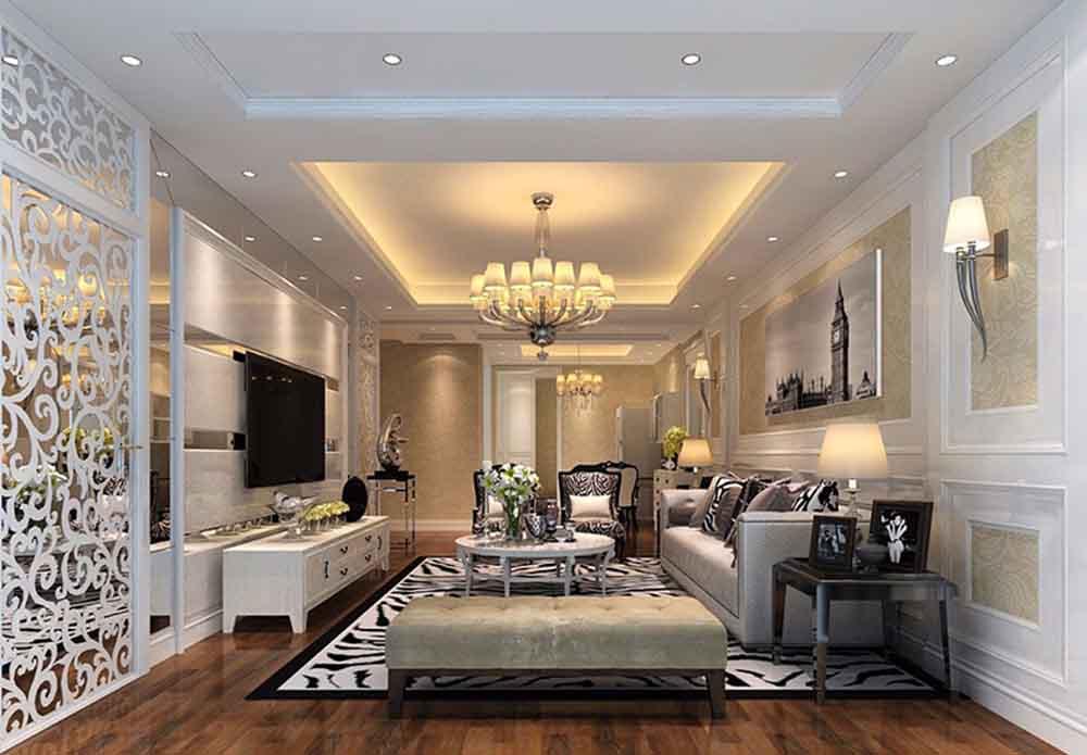 欧式别墅豪宅装修设计,河南大地装饰*专业图片