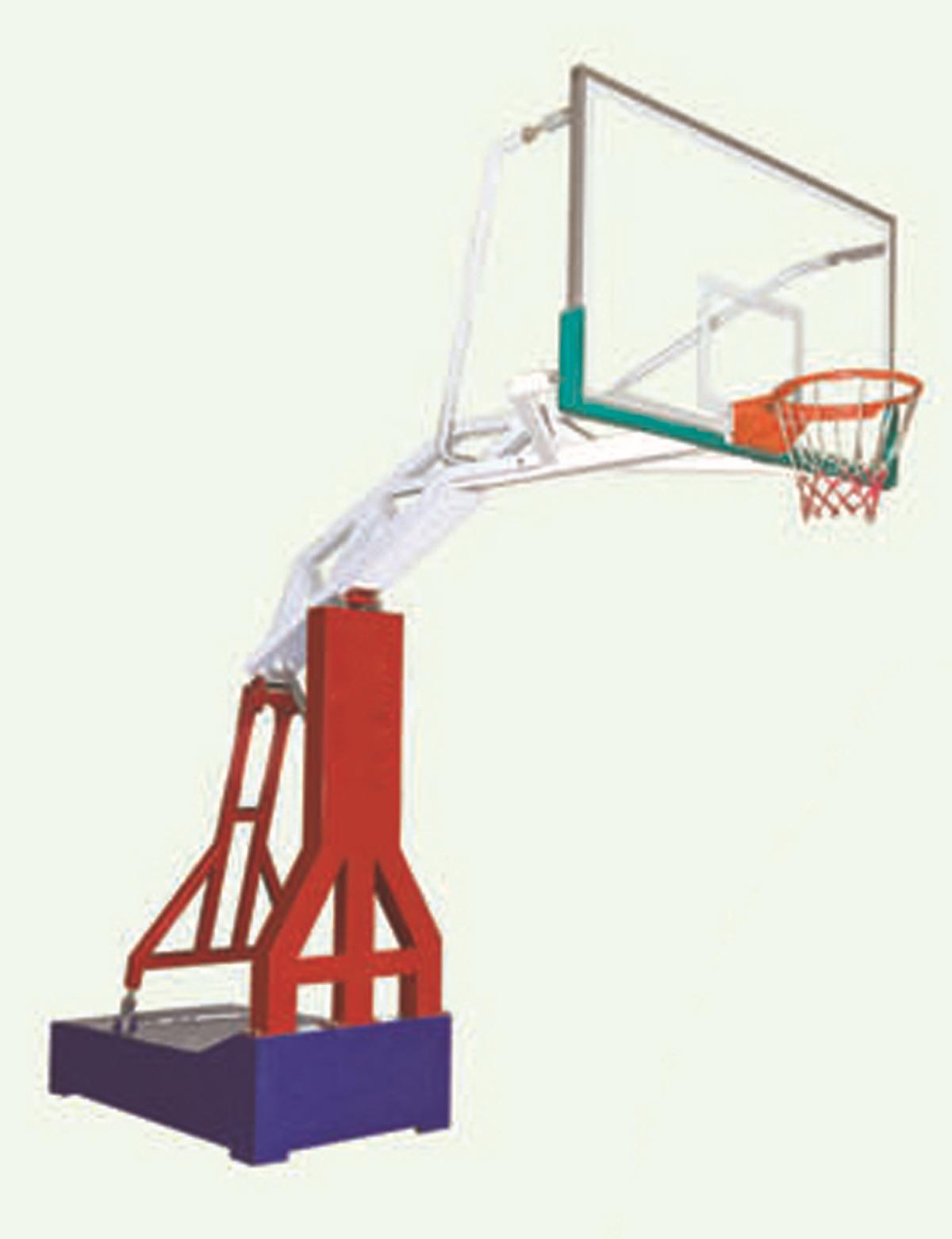 厂家直销篮球架户外休闲标准篮球架新型防液压篮球架比赛专用篮球架图片