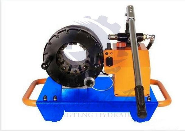 销售,售后服务,为一体的液压制造类企业,公司主要产品:胶管接头扣压机图片