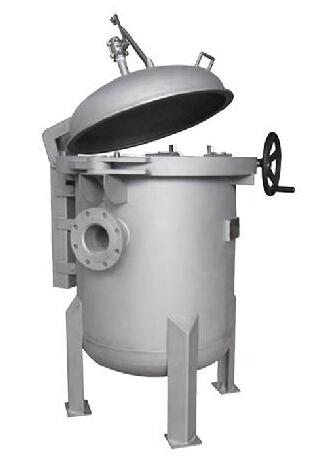 液体袋式过滤器是过滤系统的一种新型产品,过滤器内部由冲孔板制作